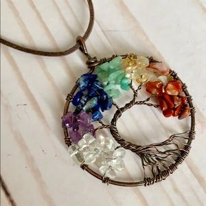 Jewelry - Tree of Life Stone Necklace